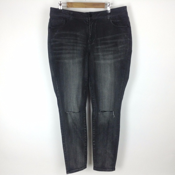 eb64ebd1738 Lane Bryant Stretch Skinny Jeans Sz 18 Plus NEW!